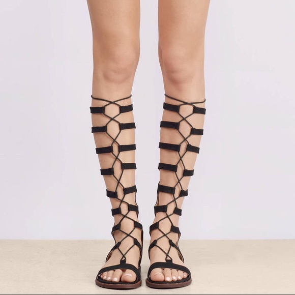 a1857c5ada Chinese Laundry- Black Galactic Gladiator Sandals
